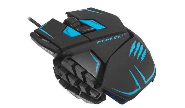 Mad Catz M.M.O. TE Gaming Mouse Black USB  + бонусный код