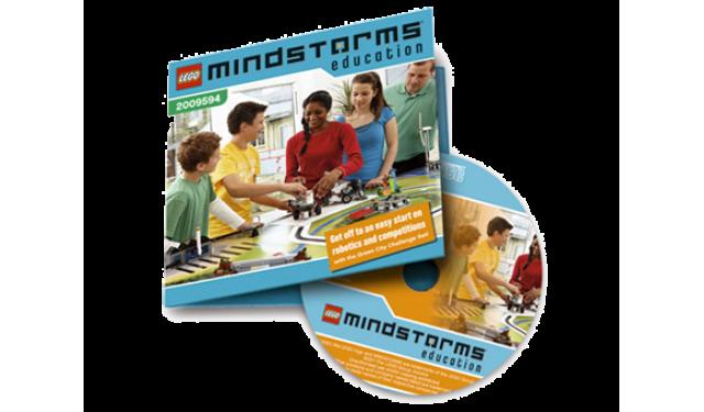 Lego 2009594 MINDSTORMS Education NXT: ЭКОГРАД. Комплект заданий. Книга учителя