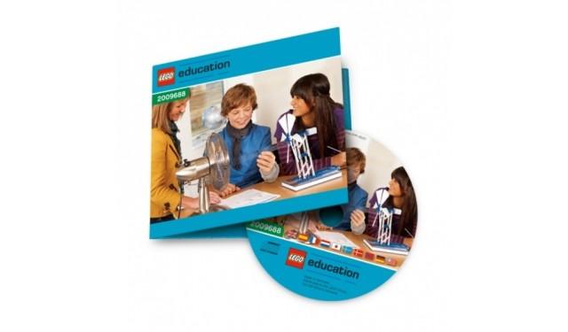 """Lego 2009688 Книга для учителя и комплект заданий """"Возобновляемые источники энергии"""". CD издание"""