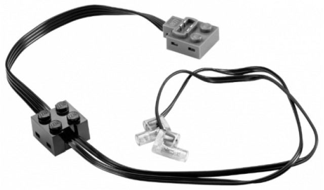 Lego 8870 Power Functions Светодиоды