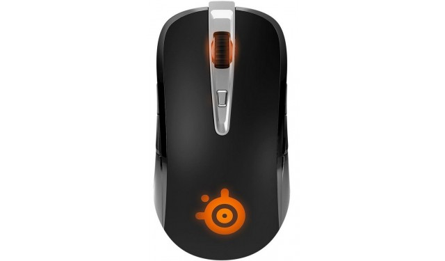 SteelSeries Sensei Laser Black USB Беспроводная