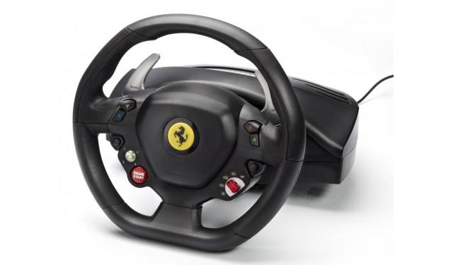 Thrustmaster Ferrari 458 Italia Racing Wheel, PC, Xbox 360