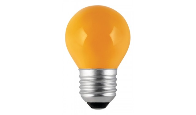 Лампа накаливания декоративная ДШ-10 желтая