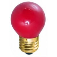 Лампа накаливания декоративная ДШ-10 красная