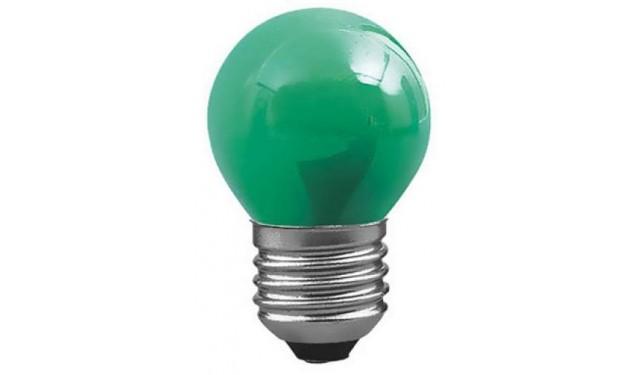 Лампа накаливания декоративная ДШ-10 зеленая