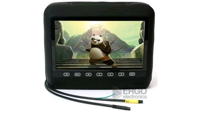 Автомобильный монитор Ergo ER 9HD black