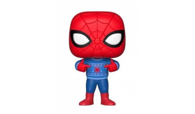 Фигурка Funko Bobble: Marvel: Holiday: Spider-Man w/ Ugly Sweater 33983