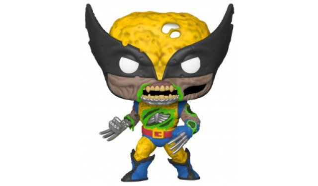 Фигурка Funko POP! Bobble Marvel Marvel Zombies Wolverine (GW) (Exc) 36648
