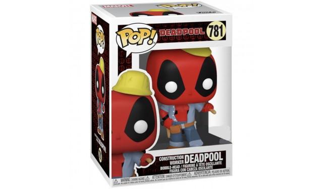 Фигурка Funko POP! Bobble Marvel Deadpool 30th Construction Worker (Exc) 54688