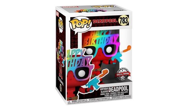 Фигурка Funko POP! Bobble Marvel Deadpool 30th Birthday Glasses Deadpool (Exc) 54687