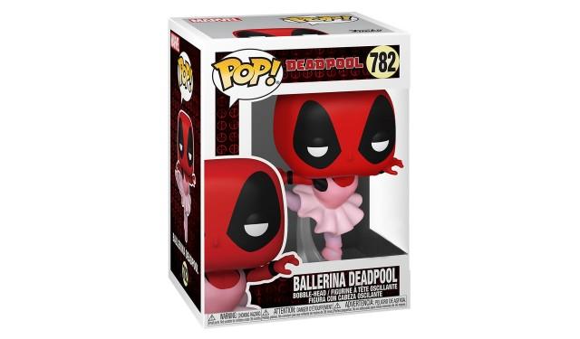 Фигурка Funko POP! Bobble Marvel Deadpool 30th Ballerina Deadpool (Exc) 54689