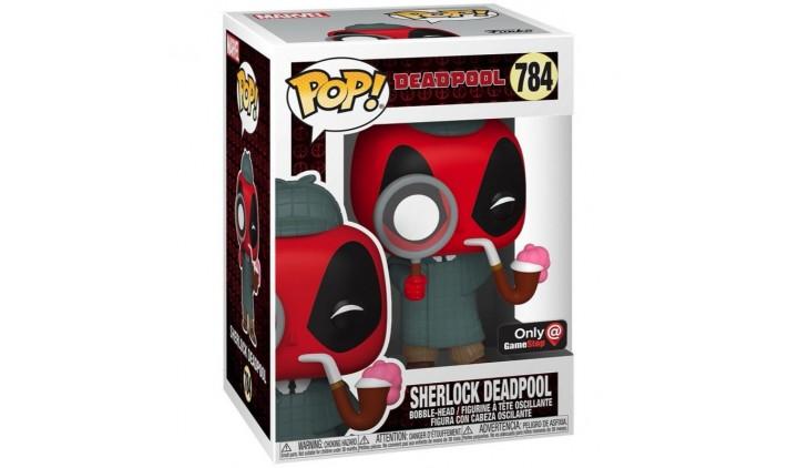 Фигурка Funko POP! Bobble Marvel Deadpool 30th Sherlock Deadpool (Exc) 54691
