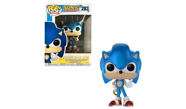 Фигурка Funko POP! Games Sonic the Hedgehog Sonic with Ring (MT) (Exc) 33221