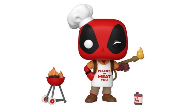 Фигурка Funko POP! Bobble Marvel Deadpool 30th Backyard Griller Deadpool 54652