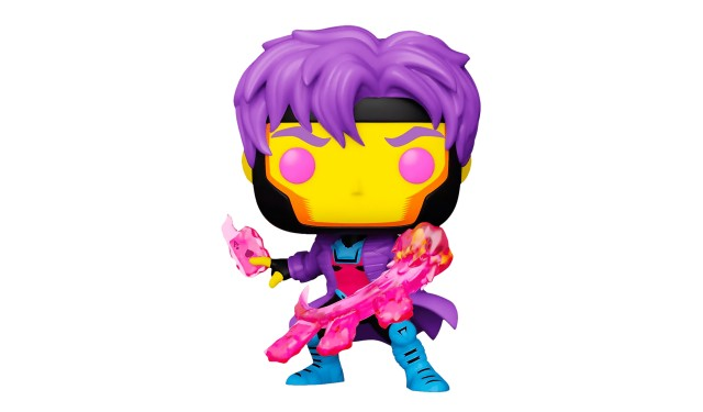 Фигурка Funko POP! Bobble Marvel Black Light Gambit (Exc) 55628