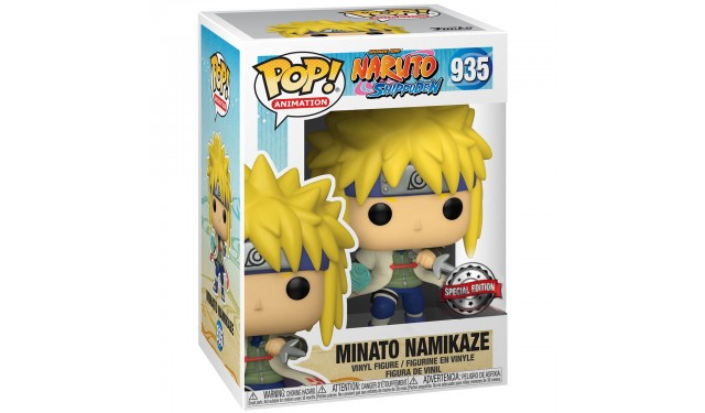 Фигурка Funko POP! Animation Naruto Shippuden Minato w/ Chase (GW) (Exc) 36441