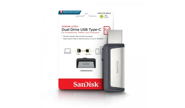 Флешка SanDisk Ultra Dual Drive USB Type-C 64GB