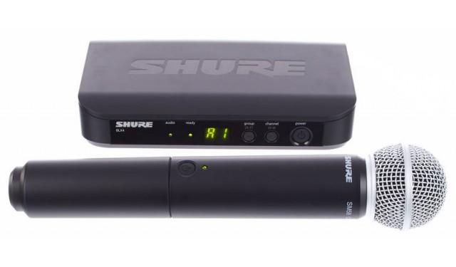 SHURE BLX24E/SM58 K3E