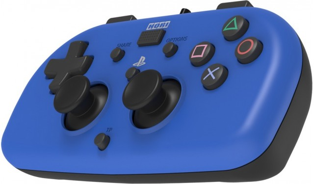 Геймпад HORIPAD MINI BLUE для PS4