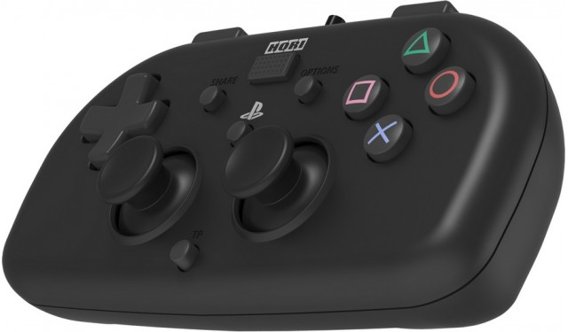 Геймпад HORIPAD MINI BLACK для PS4