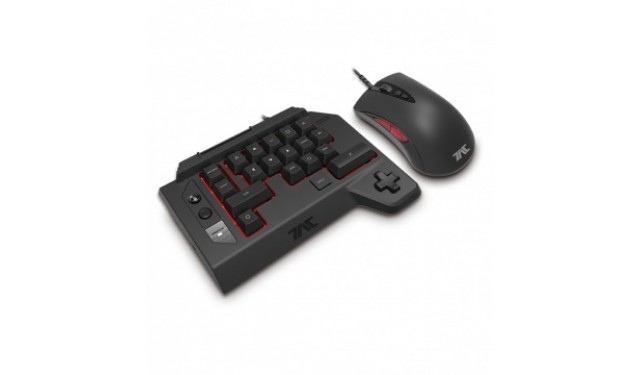 Клавиатура и мышь HORI T.A.C. FOUR TYPE K2 Black USB