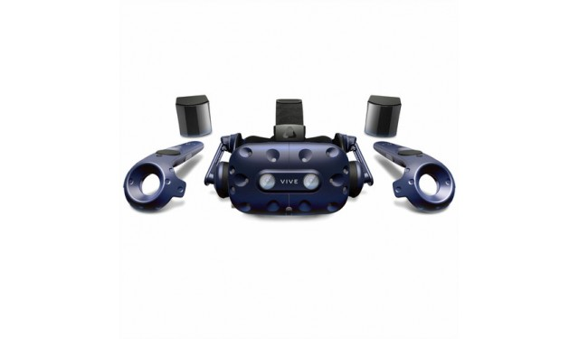 HTC Vive Pro с базовыми станциями и контроллерами Steam VR Tracking 2.0