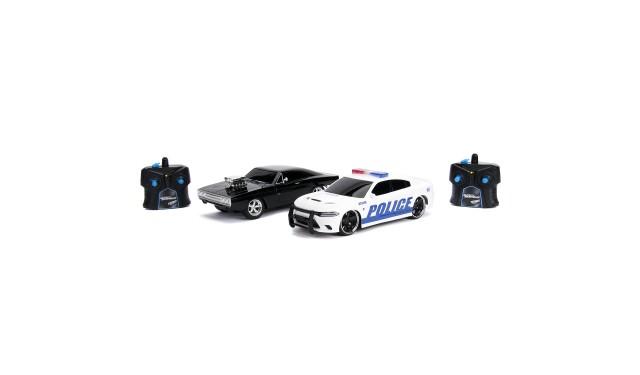 Радиоуправляемые машины  Jada Toys Р/У Машинки Fast & Furious 1:16 Twin Pack RC 30726 2015 Dodge Charger 97584 1970 Dodge Charger (Street) 30725