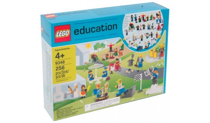 Lego 9348 Городские жители