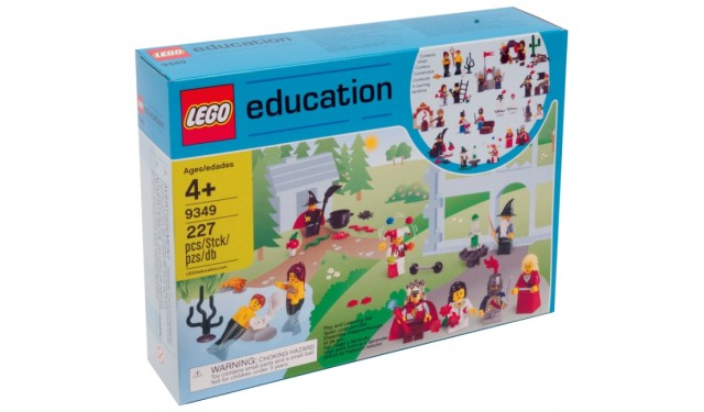 Lego 9349 Education Сказочные и исторические персонажи