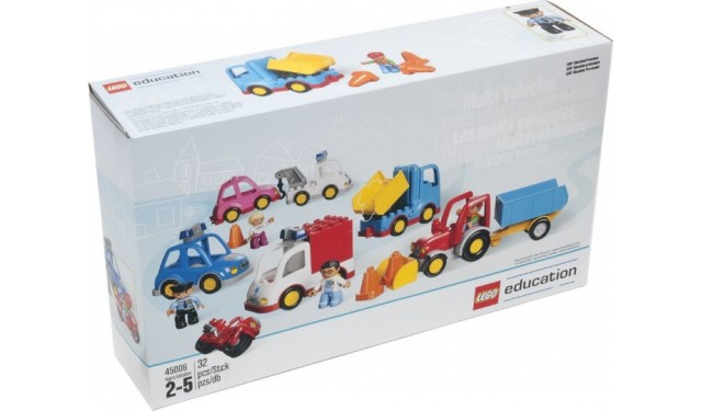 Конструктор LEGO Education PreSchool DUPLO 45006 Муниципальный транспорт