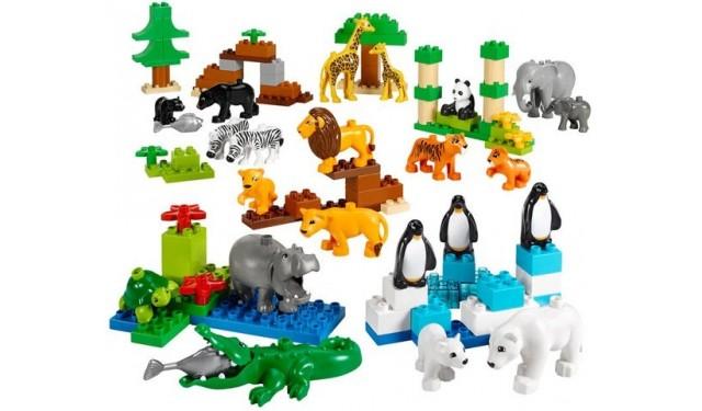 Конструктор LEGO Education PreSchool DUPLO 45012 Дикие животные