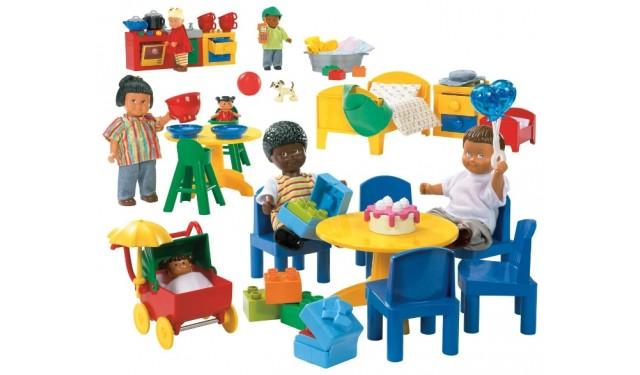 LEGO 9215 Education  Дочки-матери