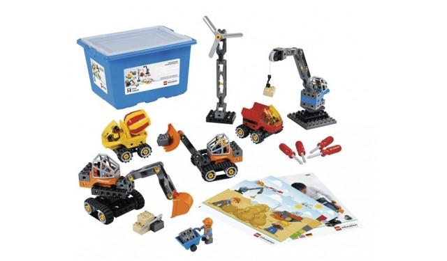 Винтовой конструктор LEGO Education PreSchool DUPLO 45002 Строительные машины