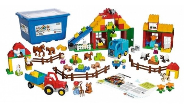 Конструктор LEGO Education PreSchool DUPLO 45007 Большая ферма