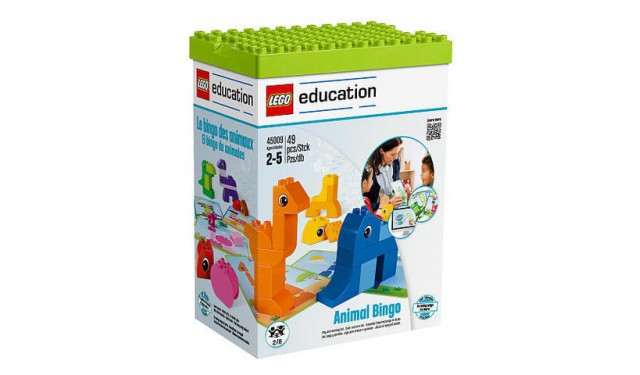 Конструктор LEGO Education PreSchool DUPLO 45009 Лото с животными