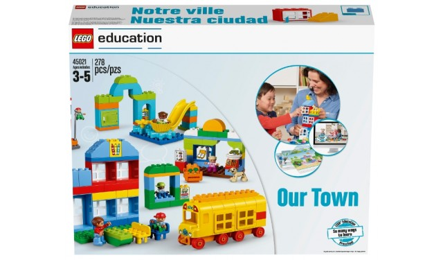 Конструктор LEGO Education PreSchool DUPLO Наш городок 45021