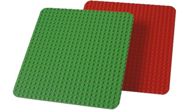 Дополнительные элементы для конструктора LEGO Education PreSchool DUPLO Большие строительные платы 9071