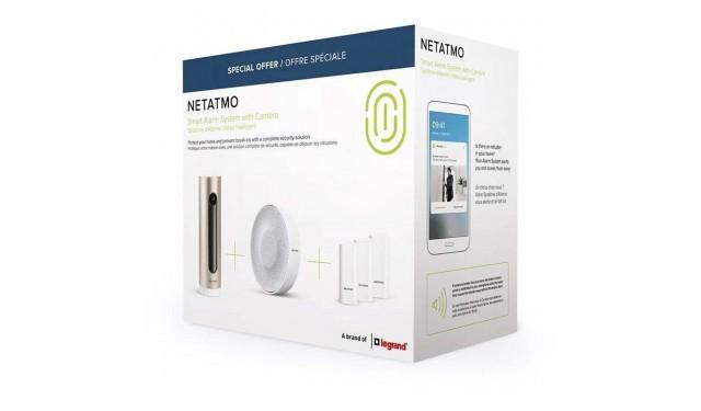 Умная система безопасности Netatmo Smart Alarm System with Camera NBU-ICSS-EU