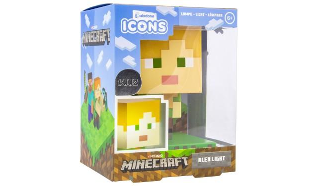 Светильник Minecraft Alex Icon Light V2 PP6591MCFV2