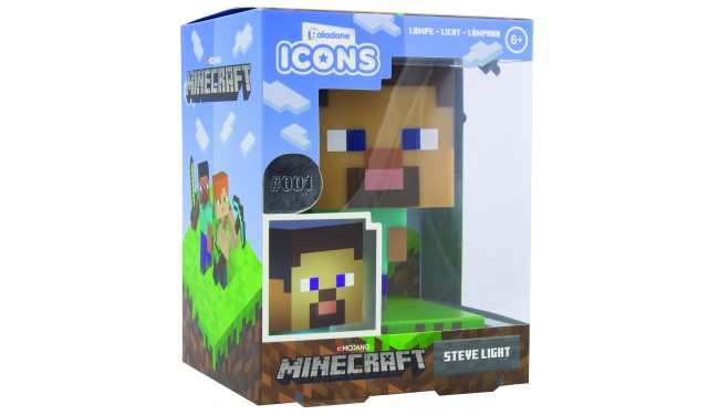 Светильник Minecraft Steve Icon Light V2 PP6594MCFV2