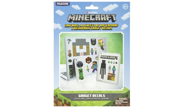 Наклейки Minecraft Gadget Decals PP7302MCF