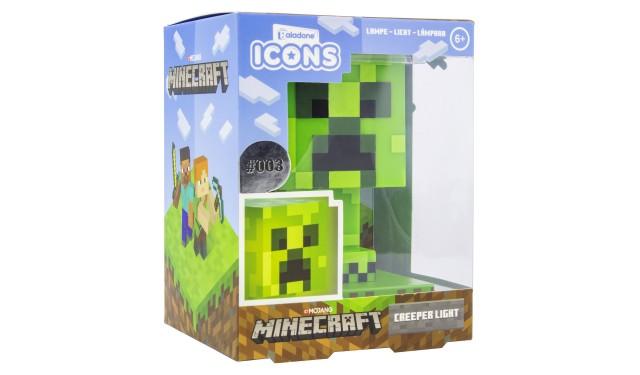 Светильник Minecraft Creeper Icon Light V2 PP6593MCFV2
