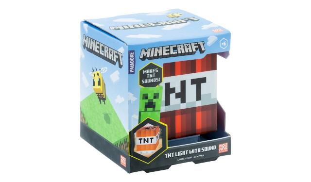 Светильник Minecraft TNT Light with Sound PP8080MCF