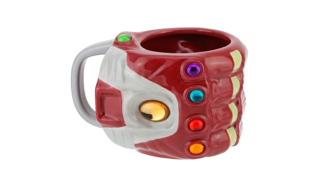 Кружка 3D Marvel Avengers Nano Gauntlet Shaped Mug PP6599MAEG