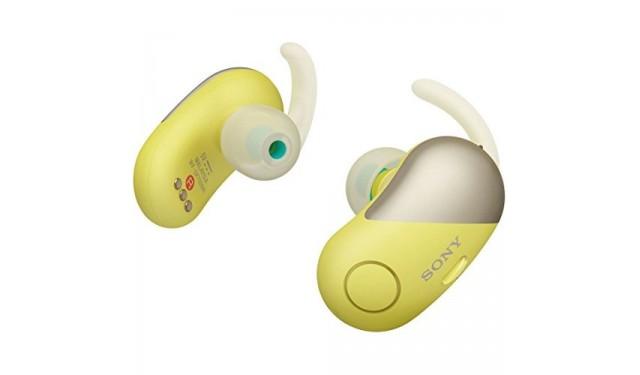 Наушники Sony WF-SP700N Yellow