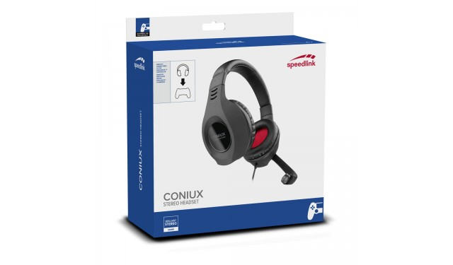 Компьютерная гарнитура SPEEDLINK CONIUX Stereo Gaming Headset (SL-4533-BK) PS4