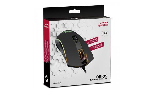Мышь SPEEDLINK ORIOS RGB Gaming Mouse (SL-680010-BK)