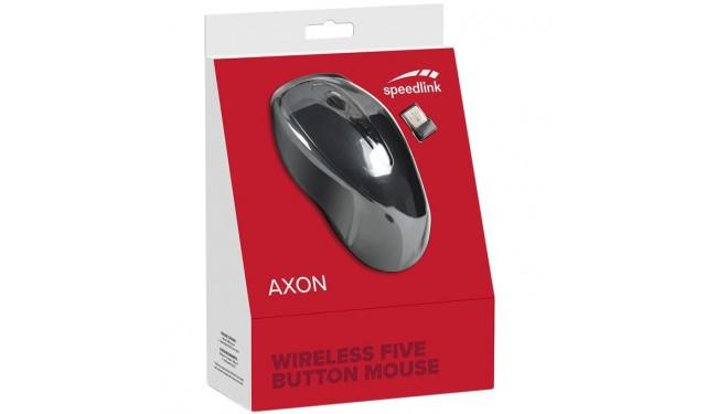 Мышь беспроводная Speedlink Axon Desktop Mouse black (SL-630004-BK)