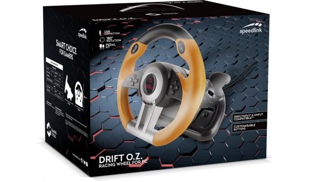 Руль SPEEDLINK DRIFT O.Z. (SL-6695-BKOR)