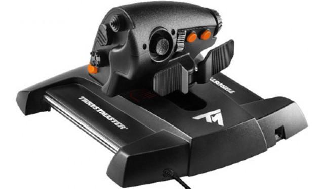 Джойстик Thrustmaster TWCS Throttle – РУД ручка управления двигателем